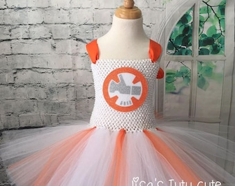BB8 Tutu Dress, BB8 tutu, BB8 dress,  Star Wars Tutu Dress, star wars costume, Bb8 costume, Bb8 Halloween costume, Star Wars wedding