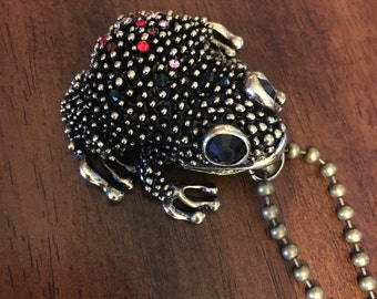 Toad You So Statement Necklace