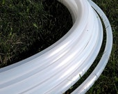 Natural Polypro Hual Hoop// Sizes 3/4, 11/16, 5/8, and 1/2 Inch