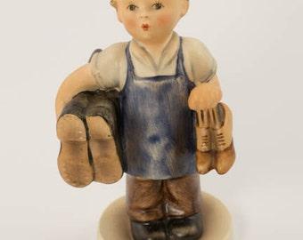 """Vintage Hummel Figurine """"Boots"""""""
