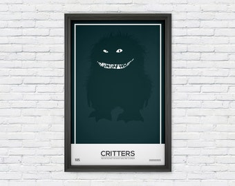 Critters - Movie Poster Print - Furry Creature