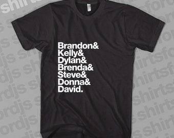Beverly Hills 90210 BLACK T-Shirt 90s TV