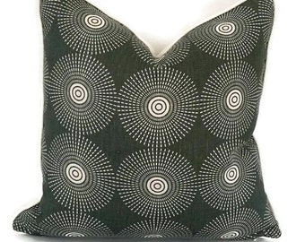 Jonathan Adler Super Nova in the color Noir for Kravet Pillow Cover