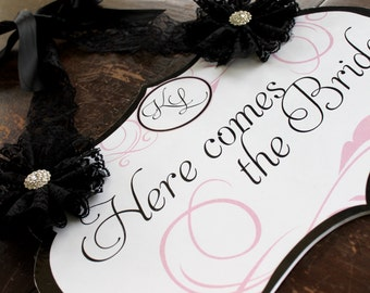 Here comes The Bride Custom Sign