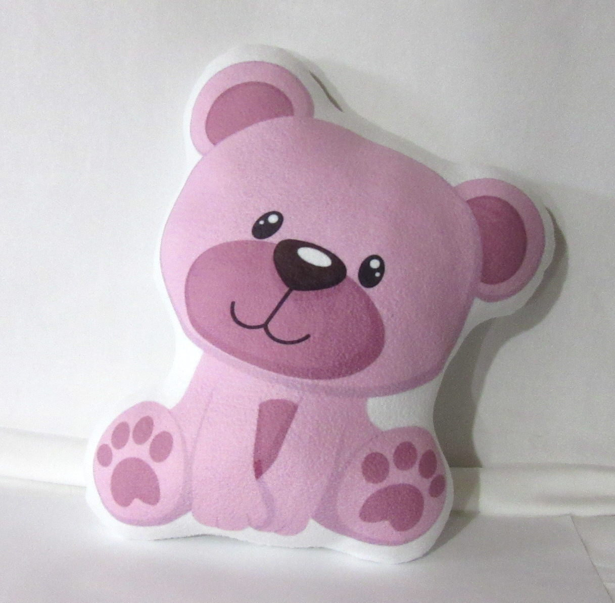 Unique Cute Baby Animal Pillow Sweet Pink Teddy Bear Dream