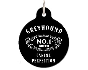 Greyhound Breed Dog ID Tag | FREE Personalization