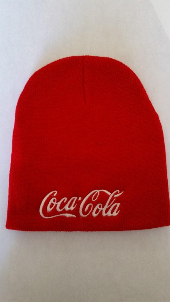 Coke Beanie Red Classic Coca Cola Clothing Hat Skull Cap Cute