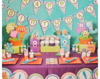 Little Monsters; Little Monsters Party; Monster Birthday Party; Little Monsters Birthday Party;Little Monster; Little Monsters Birthday