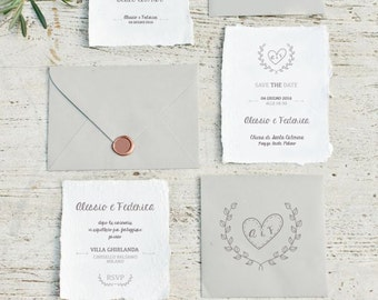 Wedding Amalfi paper