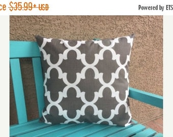SALE ENDS SOON Throw Pillow Covers Set of three-Brown and Teal Pillow Covers for Couch
