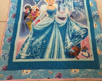 Cinderella baby/toddler Quilt