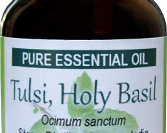 how to make tulsi essential oil