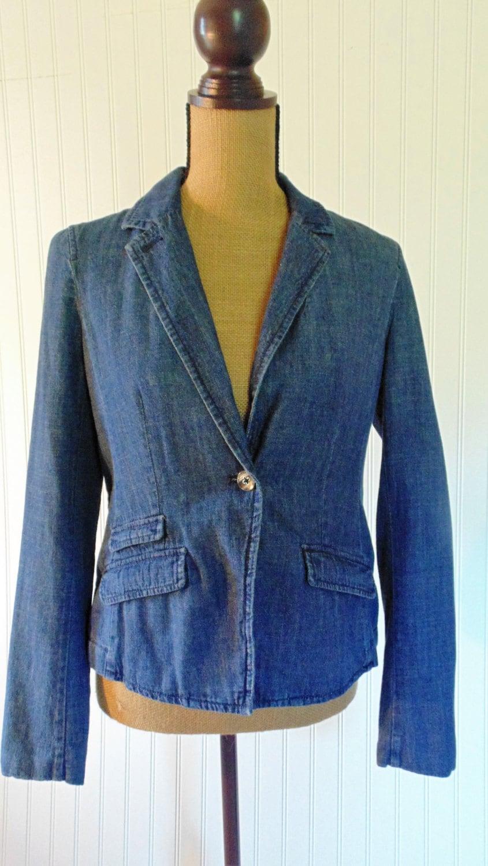 vintage tommy hilfiger jacket blazer women 39 s jacket. Black Bedroom Furniture Sets. Home Design Ideas