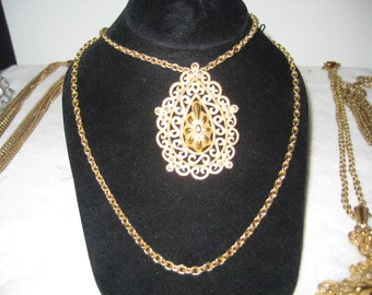 Vintage Crown Trifari necklace