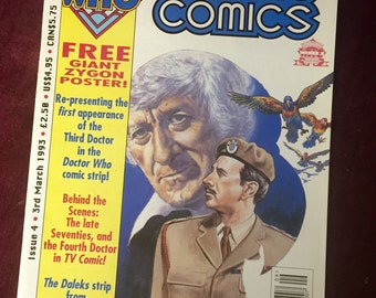 Vintage Dr. Who Comic Magazine