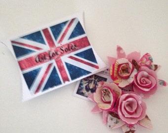 Wedding shoe clips, ladies shoe clips, wedding shoes, cupcake shoes felt flowers, fabric flowers, pink flowers, felt roses.