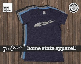 Long Island, New York Home. tshirt- Womens Cut