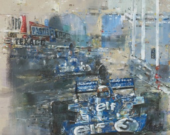 Tyrrell 006 - Limited edition print