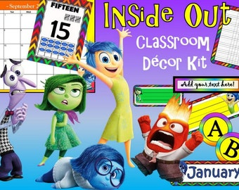 Inside Out Movie Inspired Classroom Kit
