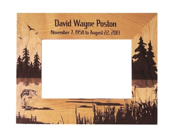 Memorial Picture Frame, outdoor theme