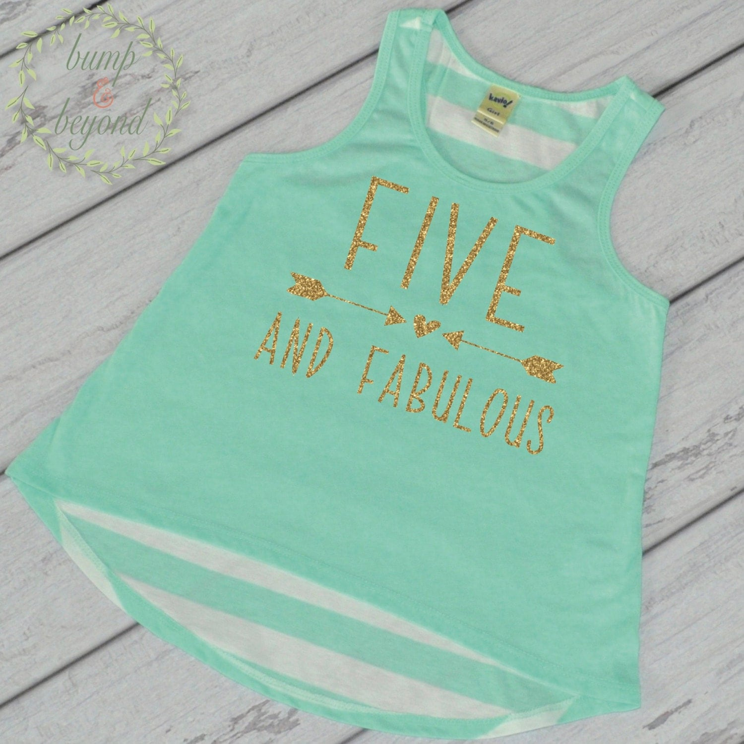 Five and Fabulous Kids Birthday Shirt Trendy Kids Clothes Girl - photo#23