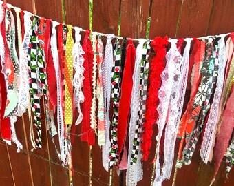 Bohemian Kraft Boho Garland Torn Gypsy Curtain Party Decor