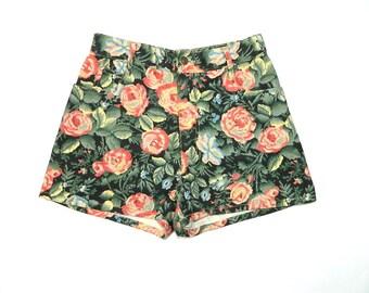 Vintage Floral Jean shorts