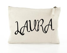 ANY Name - Personalised Makeup Bags - Gifts for Bridesmaids
