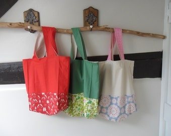 Shopping or Market Canvas Tote Bag