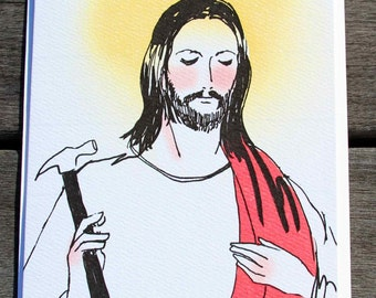 Agnostic Atheist Christmas Card