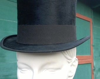 Antique German Top Riding Hat