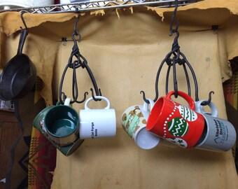 5 Way Cup/Pot Claydon Knot Rack