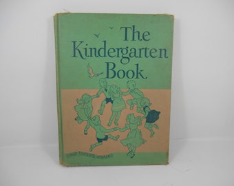 Our Singing World: The Kindergarten Book by Lilla Belle Pitts, Glenn, Watters, Pisillo, 1949 Ginn & Company School Music Book