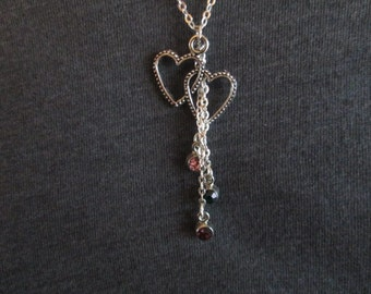 Waterfall Mother's Necklace