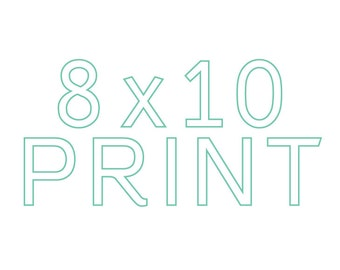 Make any print 8x10