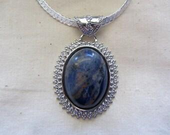 Sodalite stone Pendant