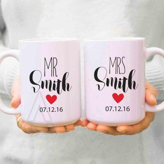 Wedding Gifts For Couples: Couple Gifts Wedding Gifts For Couples His And Hers Mugs