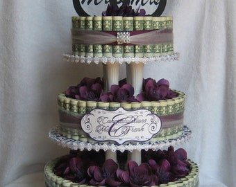 give me the wedding cake money cake small birthday celebration a 14707