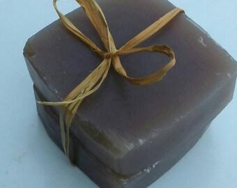 Coffee Almond Glycerin Soap