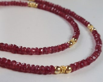 Ruby Necklace (JK 762)