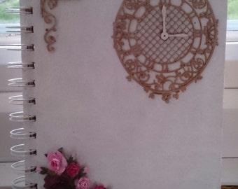 A5 Beautiful Handmade Lined Notebook