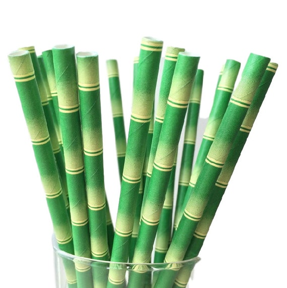 how to make bamboo straws