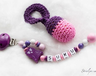 Gifts Rassel_046 saver set pacifier chain