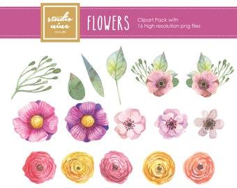 Flowers Clipart Set