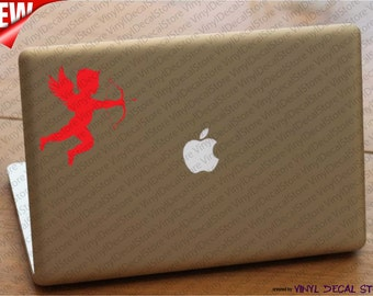 MAC MACBOOK Laptop Vinyl Decal Sticker Cupid