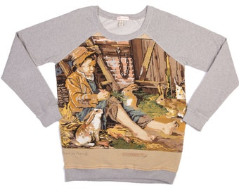 Sweat women rabbits - M - Collection canvas