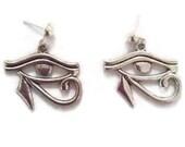 Silver Eye of Horus studs