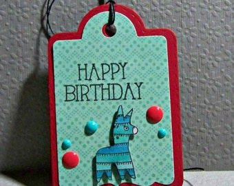 Happy Birthday... Pinata... Tag...