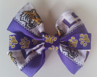LSU Hairbow
