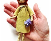 Learn to make VERITY HOPE DOLLS with this pdf Instant download felt doll pattern